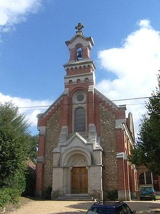 Jouars-Pontchartrain - Image: Jouars Pontchartrain Église Saint Lin