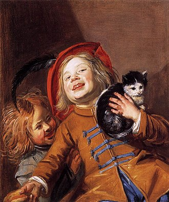 The Fingernail Test - Image: Judith Leyster Two Children with a Cat WGA12955