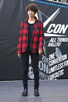 Jung Joon-young in KCON, 2014.jpg