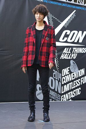 Jung Joon-young - Jung at KCON in Los Angeles, 2014