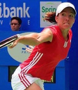 Justine Henin-Hardenne finished the season at No. 1 by virtue of winning the WTA Tour Championships.