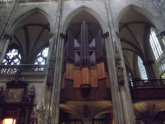 Cologne Cathedral organs - The transept Organ