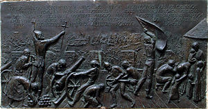 Siege of Güns - Monument of the Siege of Kőszeg, located in the bourg of Kőszeg