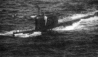 Soviet submarine <i>K-19</i> Ballistic missile submarine