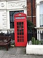 K2 telephone kiosk outside the Warrington Hotel.jpg