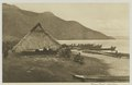 KITLV - 26901 - Kleingrothe, C.J. - Medan - Playhouse with Harang Gaul at the Toba Lake, Sumatra - circa 1900.tif