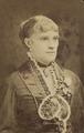 KITLV 178364 - Kinsbergen , Batavia - Portrait of a European woman in Batavia - Around 1875.tif