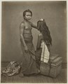 KITLV 26556 - Isidore van Kinsbergen - Two slaves Raja of Buleleng- I Loeh Sari and I Mrijakti - Around 1870.tif