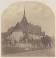 KITLV 4952 - Isidore van Kinsbergen - Crown Hall in the Palace (Dusit Maha Prasat) of the first king of Siam in Bangkok - 1862-02.tif