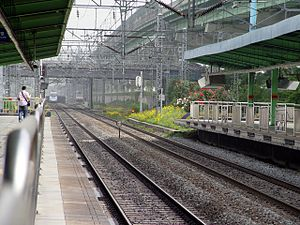 Geumcheon-gu Office Station - Image: KTX entering tunnel by Siheung Station