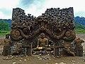 Kadadora Temple emerged in dry season Kotmale, Sri Lanka.jpg