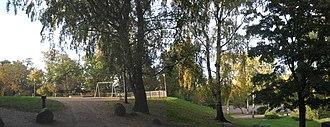 Kaisaniemi Park - Image: Kaisaniemen puistoa Vuorikadulta