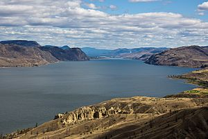 Kamloops Lake - Image: Kamloops Lake