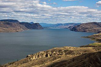 Kamloops Lake - Image: Kamloops Lake