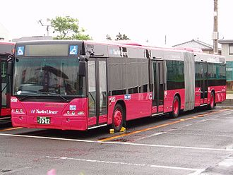 Neoplan Centroliner - Image: Kanagawa Chuo Kotsu Twin Liner N4421