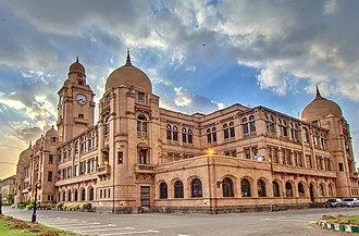 History of Karachi - Karachi Municipal Corporation Building, inaugurated in 1932.