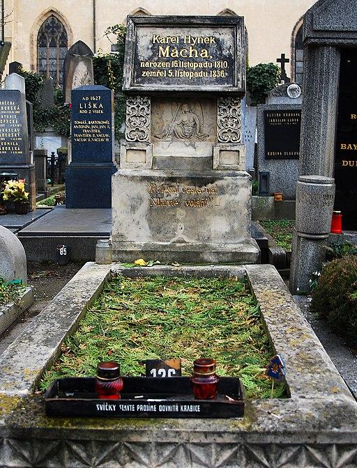 Karel Hynek Macha grave 479