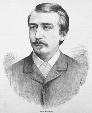 Karel Kovařovic - Portrait by Jan Vilímek