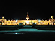 Karlsruhe Germany CastleByNight.jpg
