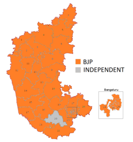 2019 Indian general election in Karnataka - Wikipedia