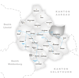 Rothenfluh – Mappa