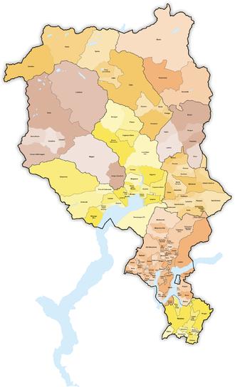Subdivisions of the canton of Ticino - Municipalities of Ticino
