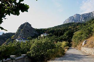 Urban-type settlement in Crimea, Disputed between Russia and Ukraine
