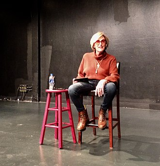 Kate Bornstein - Kate Bornstein at SUNY New Paltz in October, 2018. Photo by Morgan Gwenwald.