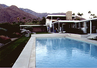 Palm Springs, California - Kaufmann Desert House, Palm Springs, by Richard Neutra