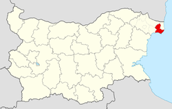Kavarna Municipality Within Bulgaria.png