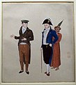 Kawahara keiga, olandese con servo, 1820-1830 ca..JPG