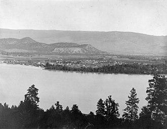 Kelowna - Image: Kelowna 1909