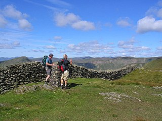 Kentmere Pike mountain in United Kingdom