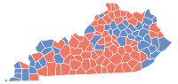Kentucky Senatorial Election Results by County, 2004.svg