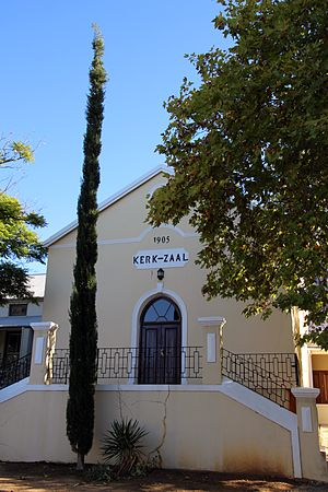 Riebeek West - The hall of the Dutch Reformed church at Riebeek West