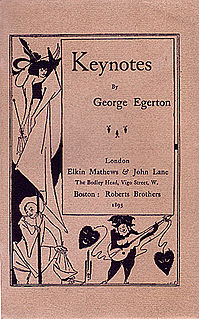 George Egerton Anglo-Australian writer and feminist
