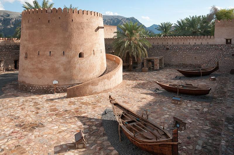 File:Khasab Castle Musandam Oman.jpg