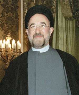 Iranian presidential election, 2001 - Image: Khatami Cropped 2001 2