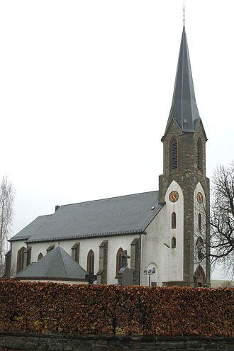 Basbellain - Image: Kierch vu Kierchen