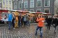 Kika in actie op de Houttuinen - Christmas market (31661410586).jpg