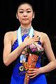 Kim 2009 GPF podium.jpg