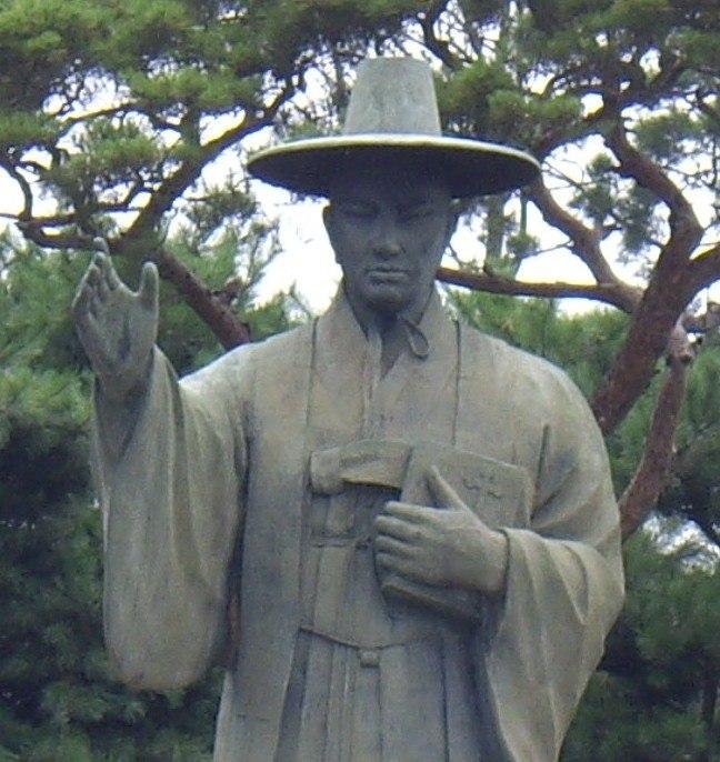 Kim Taegon Statue in Jeoldu-san (2)
