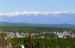 A view of the town of Kimberley