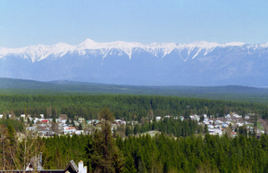 Kimberley, British Columbia - A view of the town of Kimberley