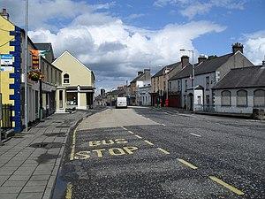 Keady - Image: Kinelowen Street, Keady geograph.org.uk 1406762
