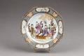 Kinesisk porslins tallrik från cirka 1770-75 - Hallwylska museet - 95813.tif