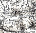 King's Pyon, Herefordshire, OS Map Sheet 198 - Hereford (Hills) 1898.jpg