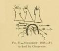 Kiowa winter count of Dohasan, summer 1838.png