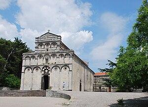 Borutta - Image: Kirche San Pietro di Sorres in Borutta