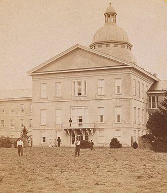 Samuel Sloan (architect) - Institute of the Pennsylvania Hospital, Philadelphia, Pennsylvania (Kirkbride's Insane Asylum)(1856-59)
